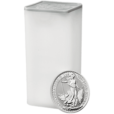 Britannia 2020 1 oz Silver Twenty Five Coin Tube