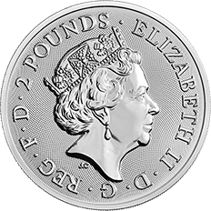 Landmarks of Britain 2018 Tower Bridge 1 oz Silver Coin
