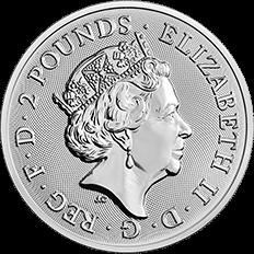 Landmarks of Britain 2018 Trafalgar Square 1 oz Silver Coin