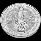 The Queen's Beasts 2020 Falcon 10 oz Silver Coin