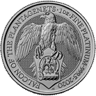The Queen's Beasts 2020 Falcon 1 oz Platinum Coin