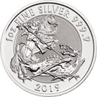 The Valiant 2019 1 oz Silver Twenty Five Coin Tube
