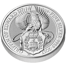 The Queen's Beasts 2017 The Griffin 2 oz Silver Coin