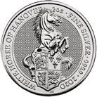 The Queen's Beasts 2020 White Horse of Hanover Silver 2 oz Bullion Coin
