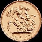 The Half Sovereign 2017 Gold Coin
