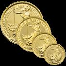 Britannia 2019 Gold 1oz, 1/2oz, 1/4oz & 1/10oz Coin Bundle