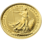 Britannia 2020 1/4 oz Gold Coin