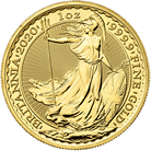 Britannia 2020 1 oz Gold Ten Coin Tube