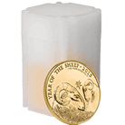 Lunar 2015 Year of the Sheep 1 oz Gold Ten Coin Tube