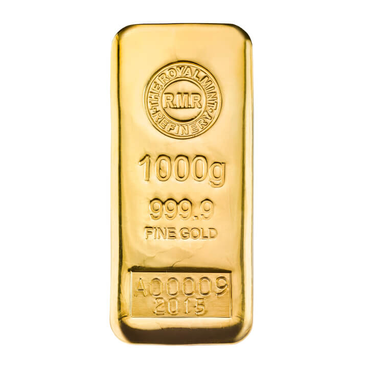1 Kg Gold Bars Royal Mint Bullion
