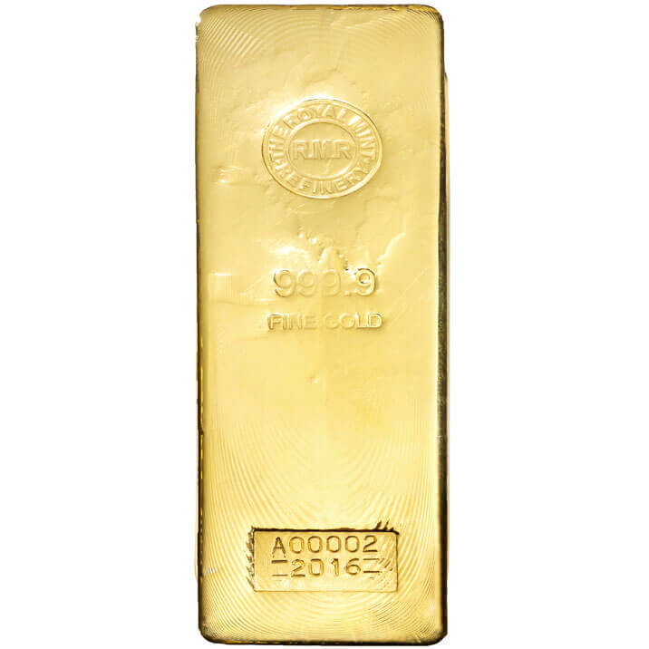 400 Oz Gold Bar Royal Mint Bullion