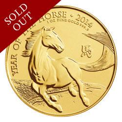 The 2014 Year of the Horse UK Gold Bullion