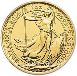 Britannia 1 oz Gold Bullion Coin