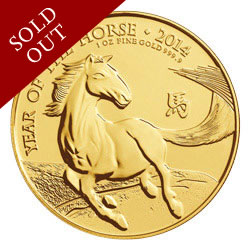 The 2014 Year of the Horse UK Gold Bullion