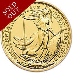 2014 Britannia 1 oz Gold Bullion Coin