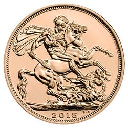 The Sovereign 2015 Gold Bullion Coin