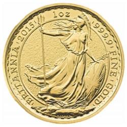 2015 Britannia 1 oz Gold Bullion Coin