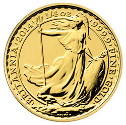 2014 Britannia 1/4 oz Gold Bullion Coin