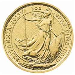 2015 Britannia 1 oz Gold Bullion Coin