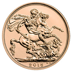 The Sovereign 2015 Gold Bullion Coin