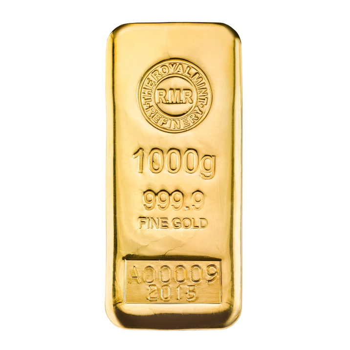 1 Kg Gold Bars Royal Mint Bullion
