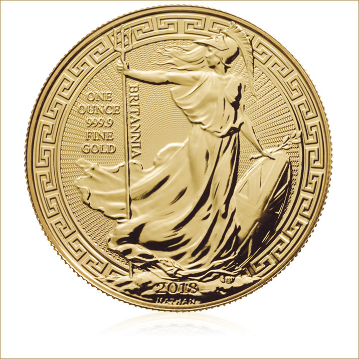 2018 Britannia Oriental Border 1 Oz Gold Bullion Coin
