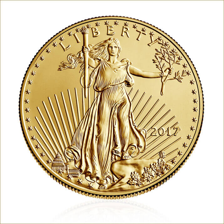 2017 1 oz American Eagle Gold Coin