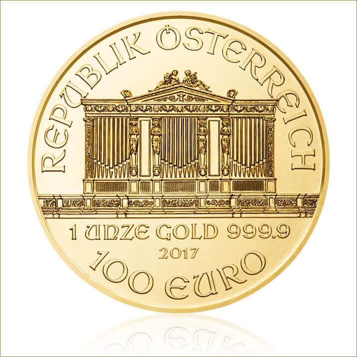 2017 1 oz Austrian Philharmonic Gold Coin