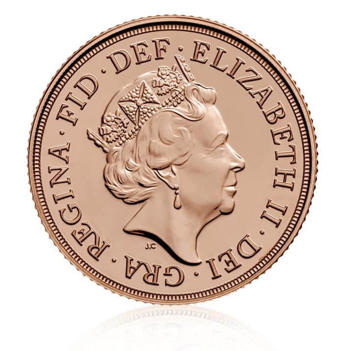 The Half Sovereign 2018 Gold Bullion Coin