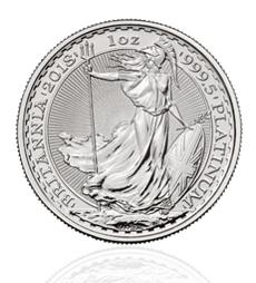 2018 Britannia Platinum - 1 oz Platinum Bullion Coin