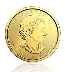 2017 1 oz Canadian Maple Leaf Gold Coin