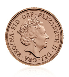 The Sovereign 2018 Gold Bullion 25 Coin Tube