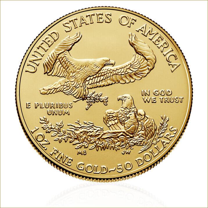 2017 1 oz American Eagle Gold Ten Coin Tube