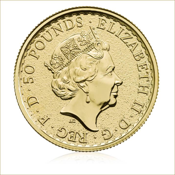 2017 Britannia 1/2 oz Gold Bullion Coin