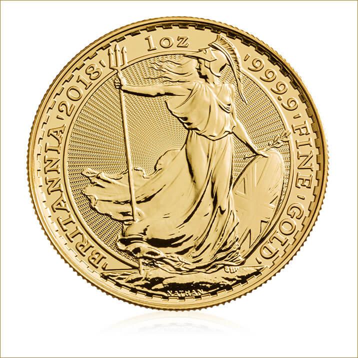 Britannia 2018 1 oz Gold Coin