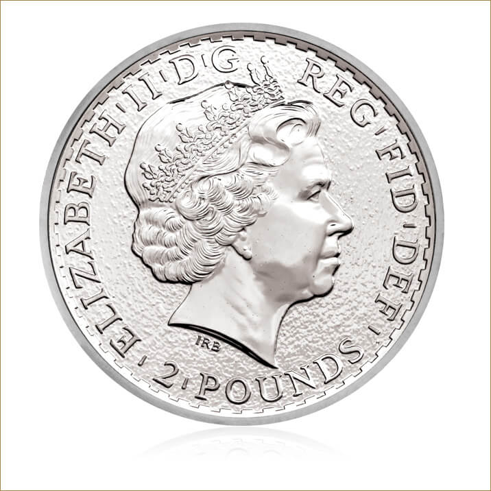 2015 Britannia 1 oz Silver Bullion Coin