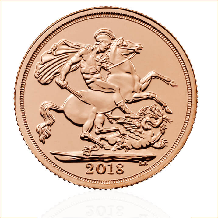 The Sovereign 2018 Gold Bullion Coin