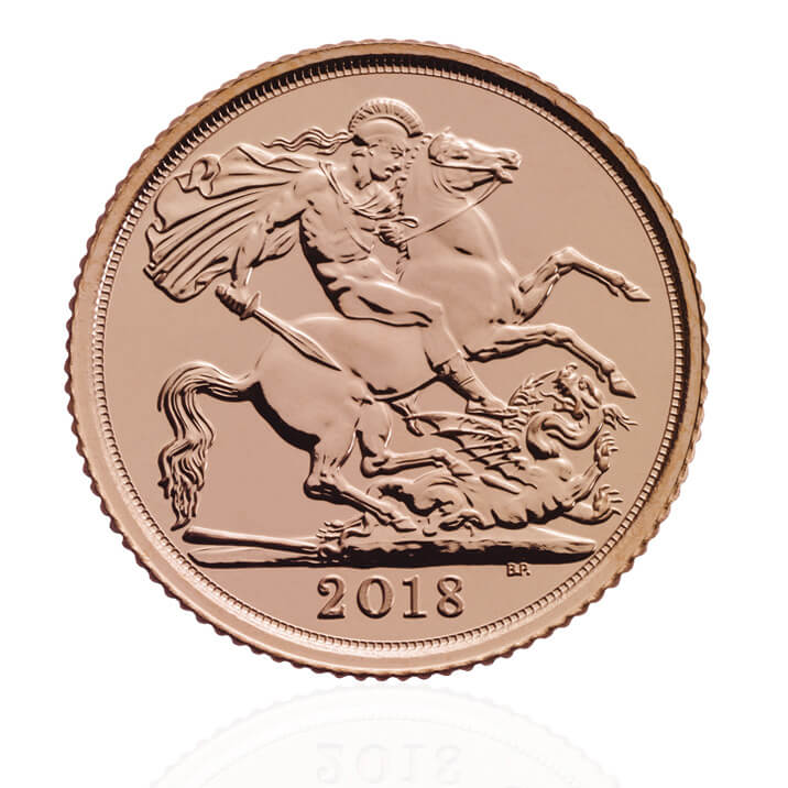 The Half Sovereign 2018 Gold Bullion Coin