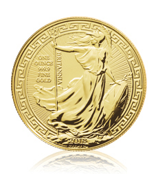 2018 Britannia Oriental Border - 1 oz Gold Bullion Coin