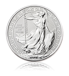 2018 Britannia Oriental Border - 1 oz Silver Bullion Coin