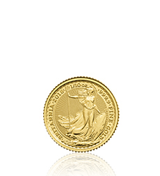 2018 Britannia 1/10 oz Gold Bullion Coin