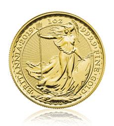 Britannia 2019 1 oz Gold Coin