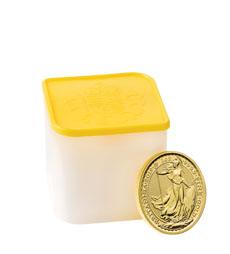 Britannia 2019 1 oz Gold Ten Coin Tube