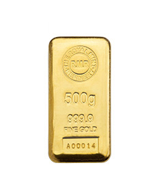 500g Gold Bar Cast