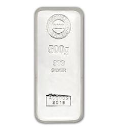 500 g Silver Bar Cast