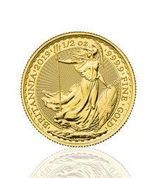 Britannia 2019 1/2 oz Gold Coin