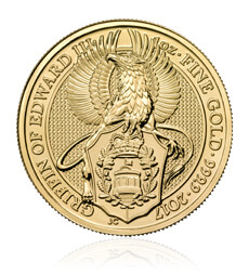 The Queen's Beasts 2017 – The Griffin - 1 oz Gold Bullion Coin