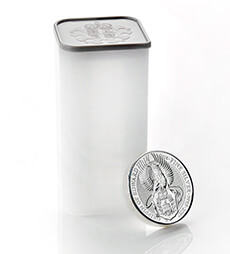 The Queen's Beasts 2017 – The Griffin - 2 oz Silver Bullion Ten Coin Tube