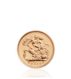The Half Sovereign 2017 Gold Bullion Coin