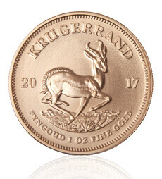 2017 1 oz South African Gold Krugerrand Coin